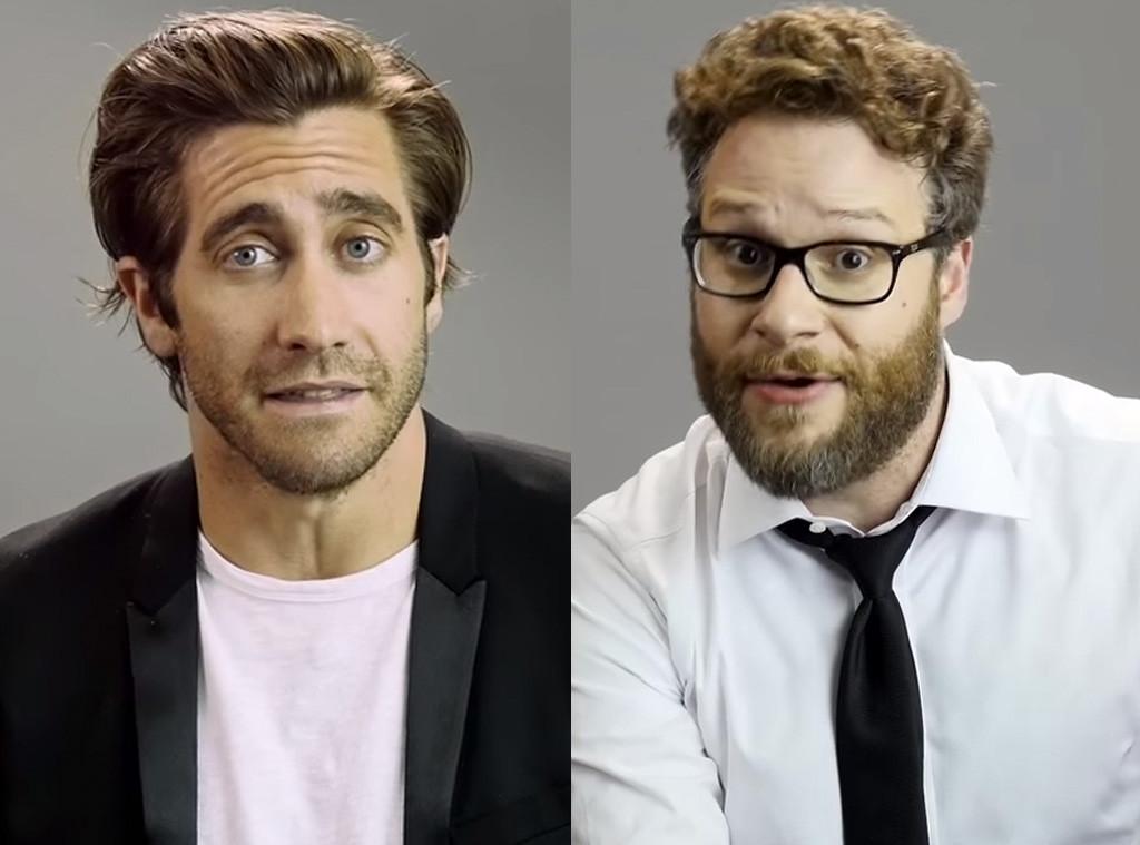 Seth Rogen, Jake Gyllenhaal, Clueless Inpersonation