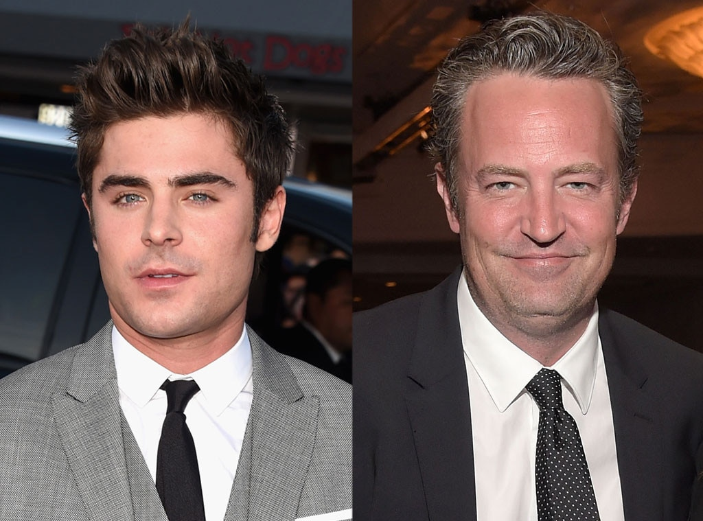 Zac Efron, Matthew Perry