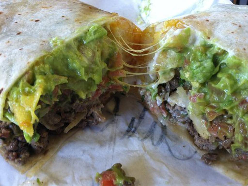 Fast Food, Taco Bell Incredible Hulk Burrito