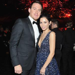 Channing Tatum, Jenna Dewan Tatum, Golden Globe After Party