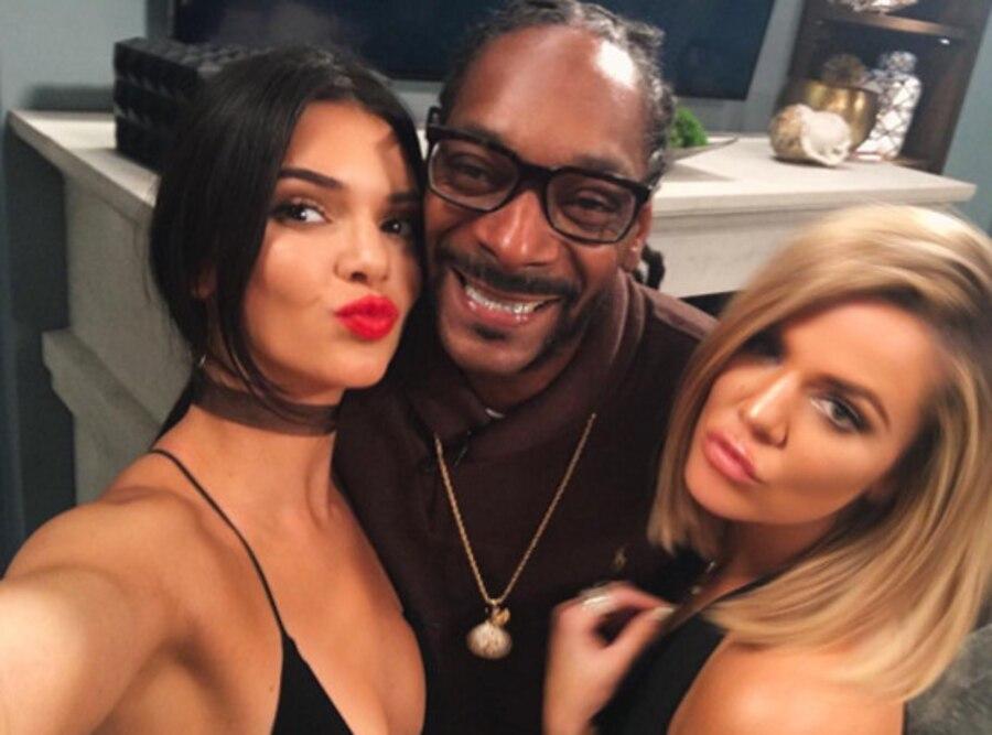 Khloe Kardashian, Kendall Jenner, Snoop Dogg