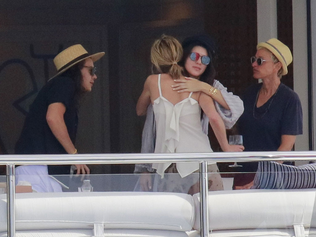 Kendall Jenner, Harry Styles, Portia De Rossi, Ellen Degeneres