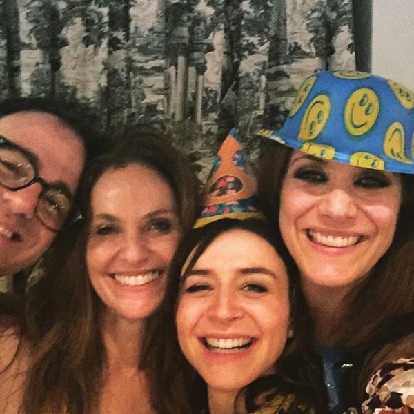 Caterina Scorsone, Amy Brenneman, Kate Walsh, Instagram