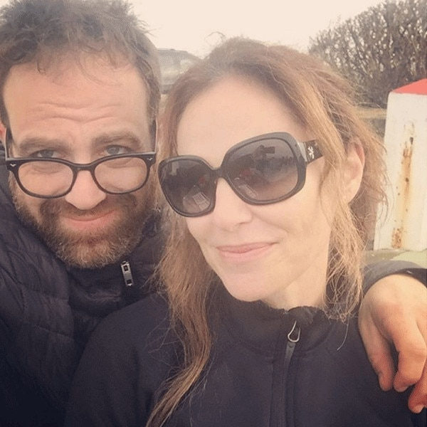 Paul Adelstein, Amy Brenneman, Instagram