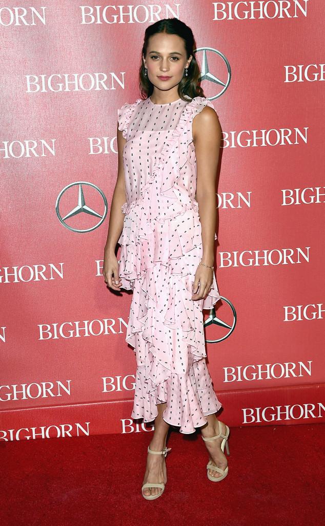 Alicia Vikander, Palm Springs International Film Festival