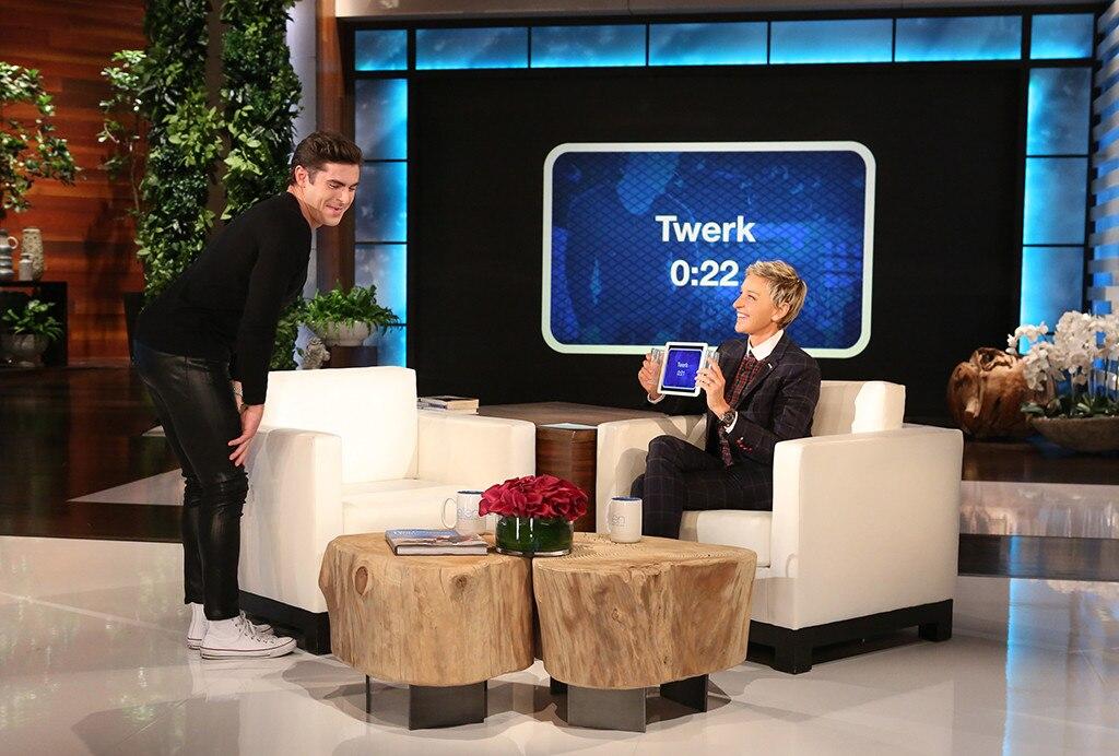 Zac Efron, Ellen DeGeneres