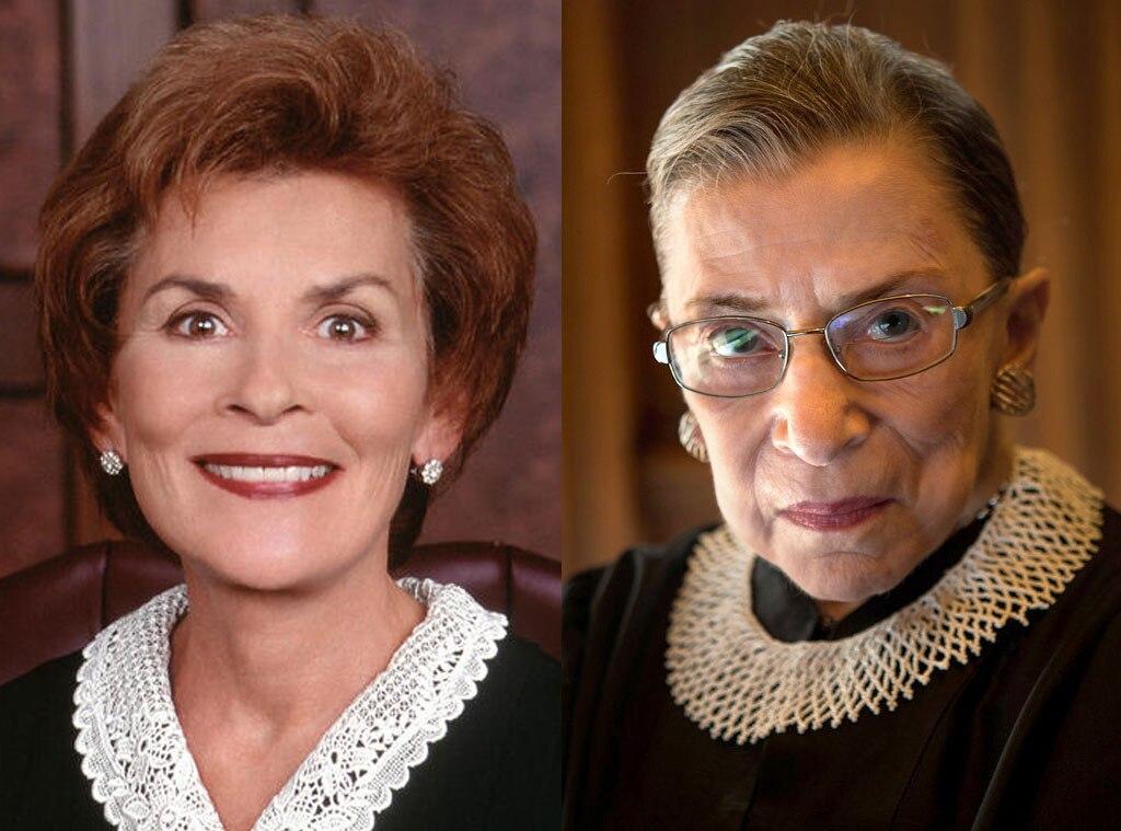 Supreme Court Justice Ruth Bader Ginsburg, Judge Judy