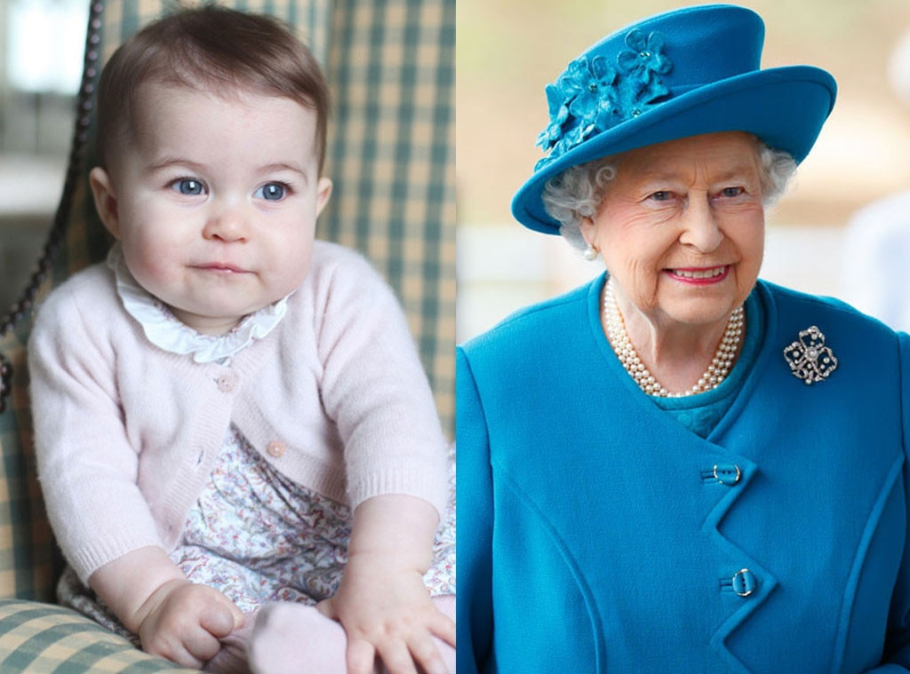 Queen Elizabeth, Princess Charlotte