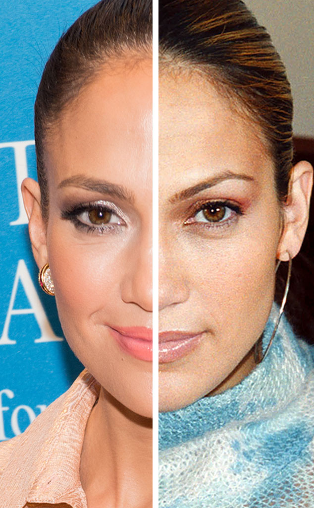 Jennifer Lopez, Stars Who Never Age, 15 Year Difference