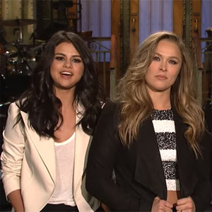 Saturday Night Live, Ronda Rousey, Selena Gomez