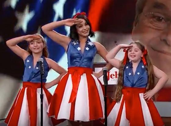 Vanessa Hudgens, Jimmy Kimmel, Jeb Bush