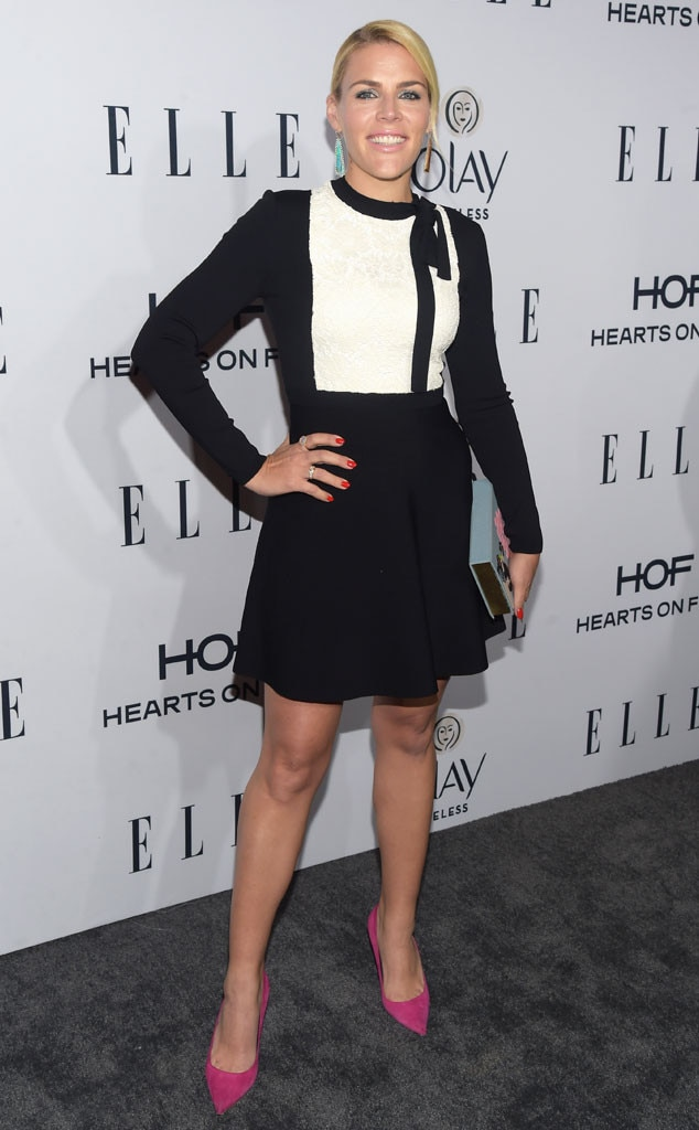 busy philipps from 2016 elle 39 s women in television red carpet e news. Black Bedroom Furniture Sets. Home Design Ideas