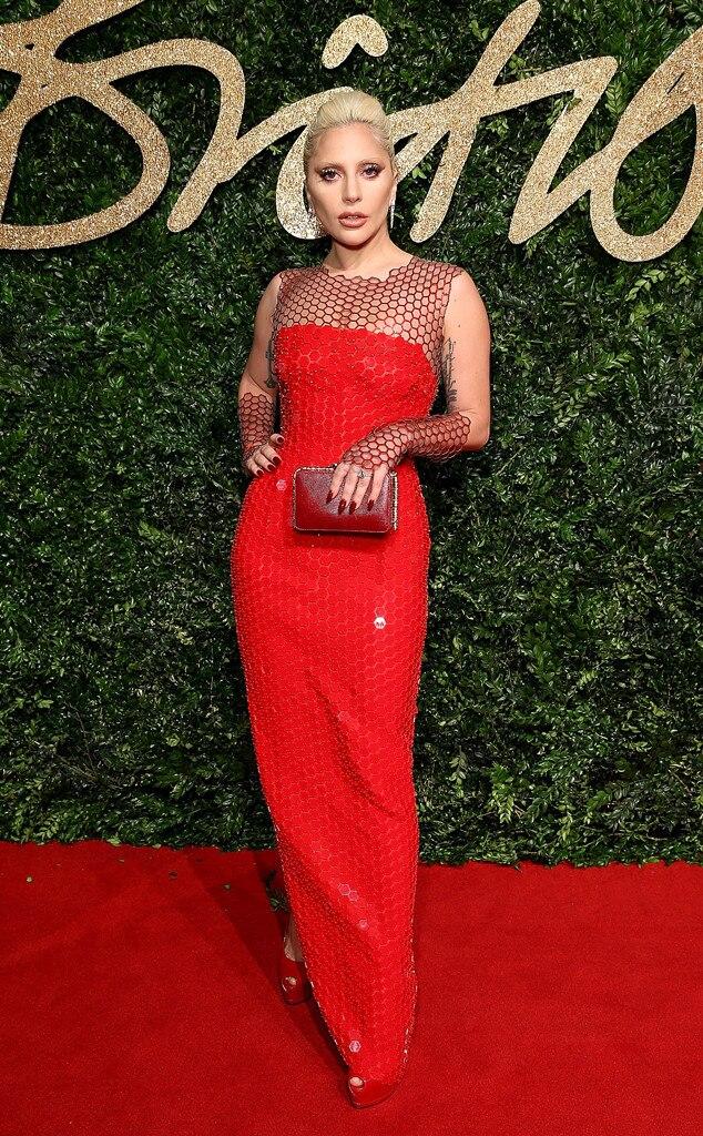 Lady Gaga, British Fashion Awards, ESC: Netting