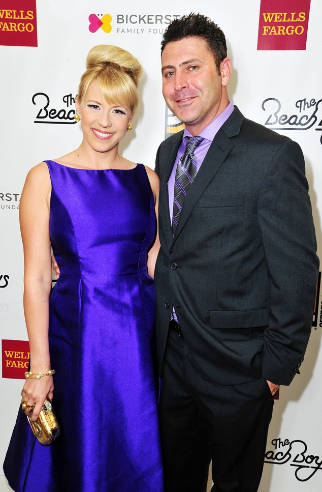 Jodie Sweetin with her fiancee of 14 months, Justin Hodak