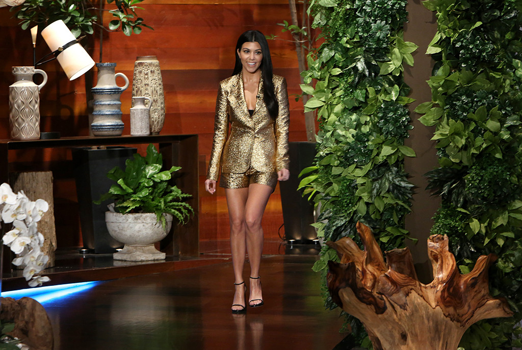 Kourtney Kardashian, The Ellen DeGeneres Show