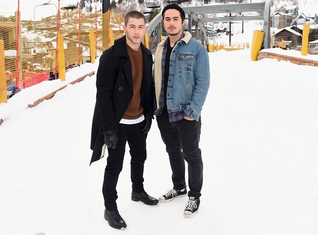 Nick Jonas, Ben Schnetzer, Sundance Film Festival