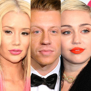 Miley Cyrus, Macklemore, Iggy Azalea