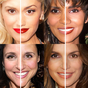 Stars Who Never Age, Face Splits