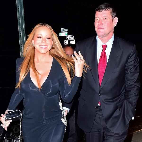 Mariah Carey, James Packer, Engagement Ring