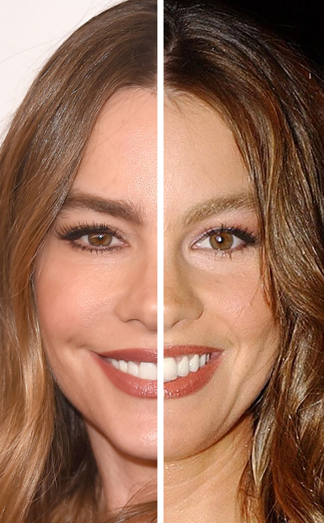 Sofia Vergara, Stars Who Never Age, 13 Year Difference