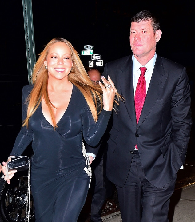 Mariah Carey, James Packer, Engagement Ring