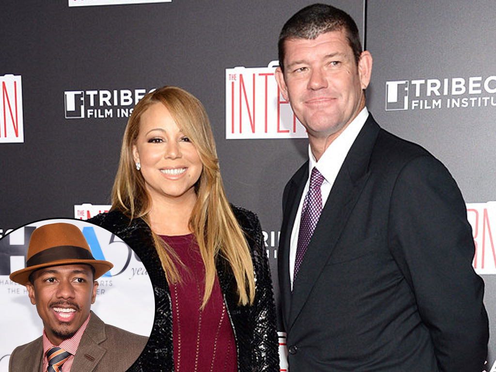 Mariah Carey, James Packer, Nick Cannon