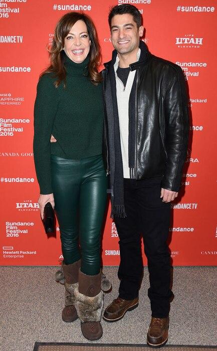 Allison Janney, Philip Joncas, Sundance