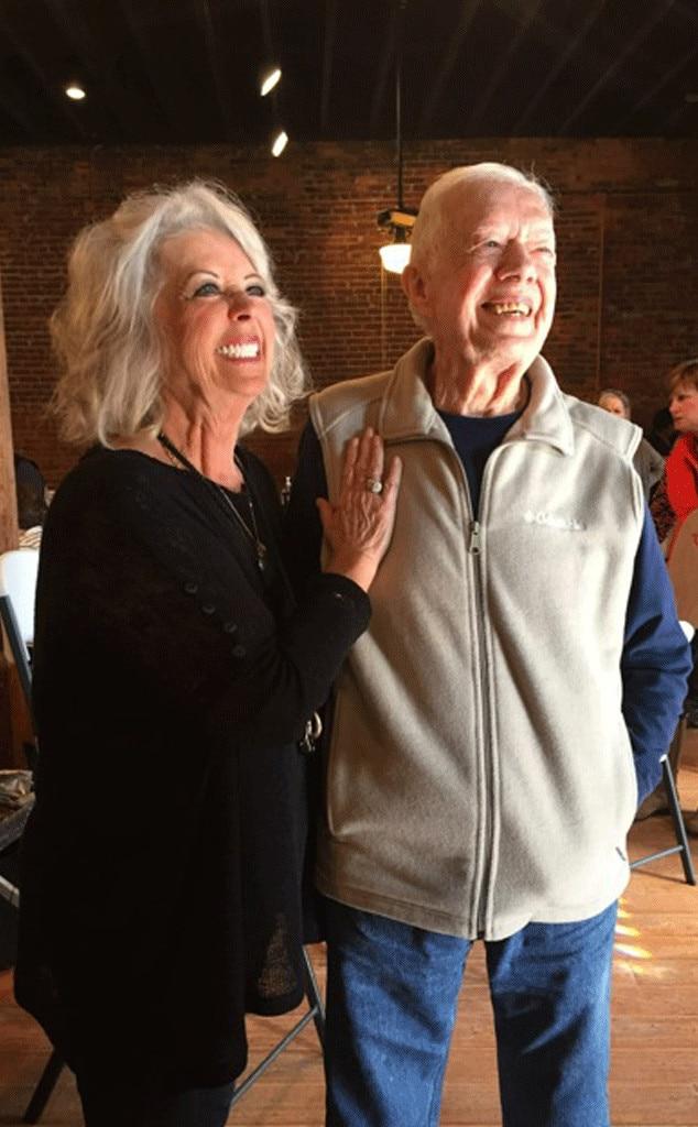 Paula Deen, Jimmy Carter
