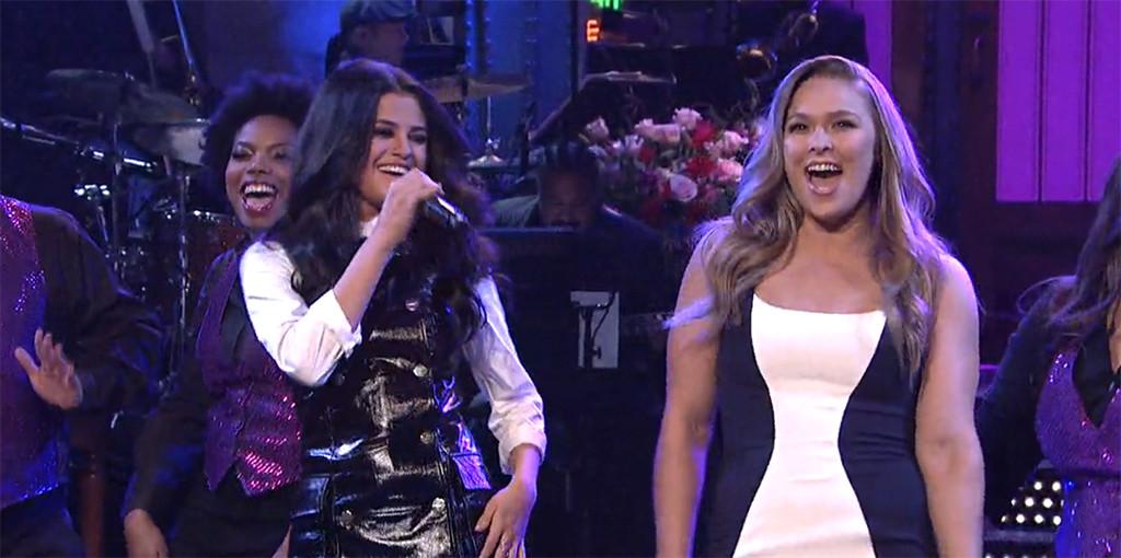 Ronda Rousey, Selena Gomez, SNL