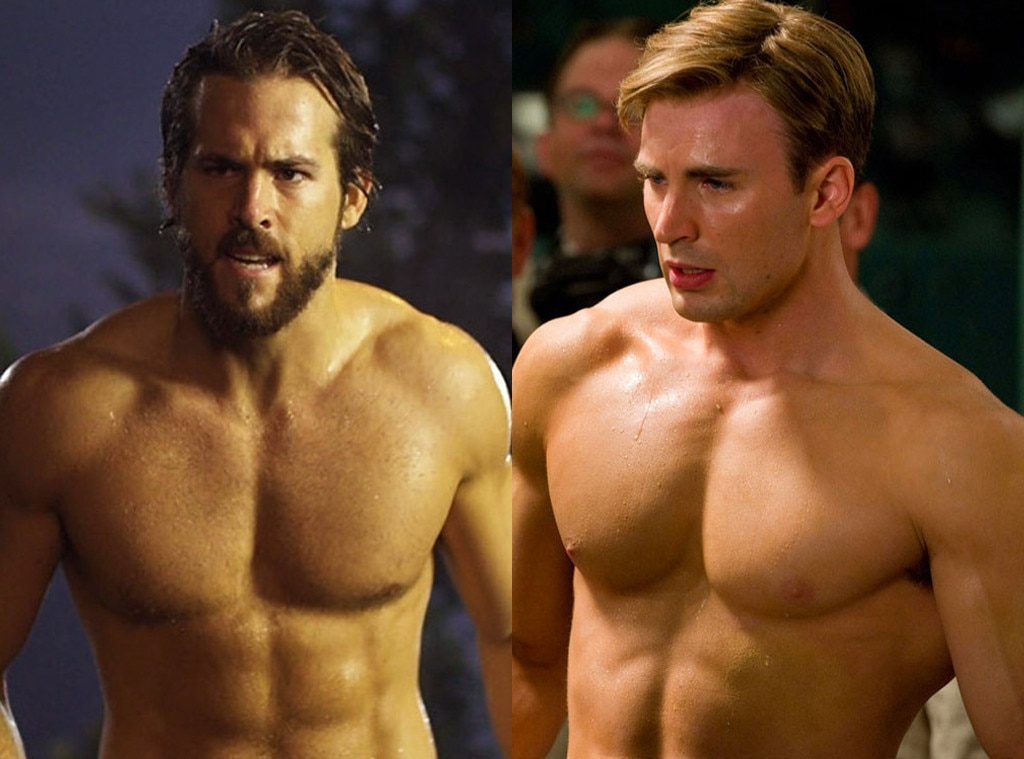 Chris Evans, Ryan Reynolds