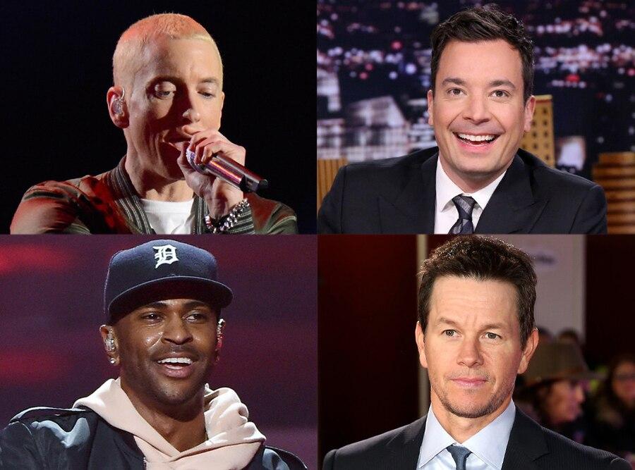 Big Sean, Eminem, Jimmy Fallon, Mark Wahlberg