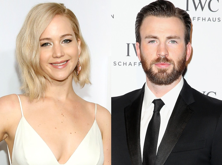 Jennifer Lawrence, Chris Evans