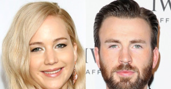 is jennifer lawrence dating chris evans