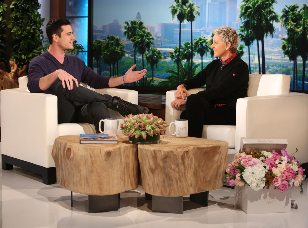 Ben Higgins, The Bachelor, Ellen DeGeneres