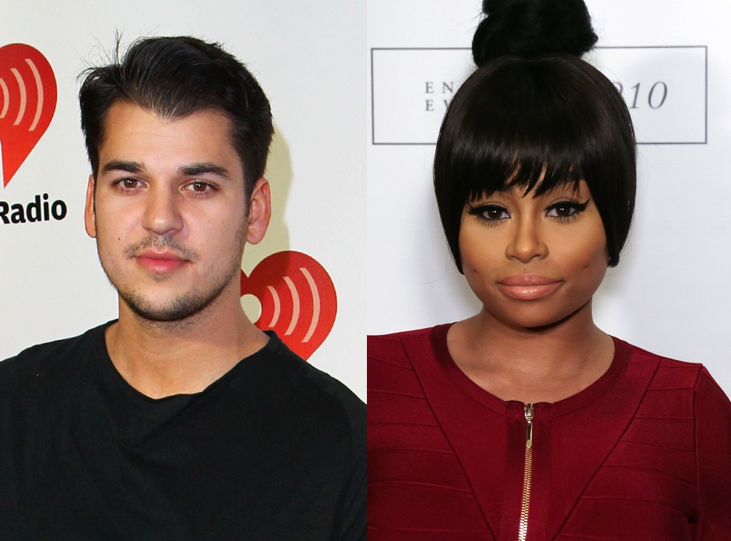 chyna and rob dating Blac chyna and rob kardashian have a volatile relationship history should we have seen this latest public fallout coming from a mile away.