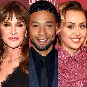 Caitlyn Jenner, Jussie Smollett, Miley Cyrus
