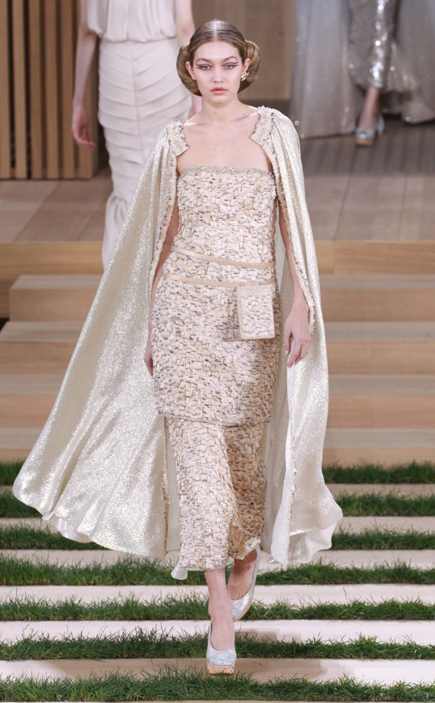 Chanel, Paris Fashion Week Haute Couture, Gigi Hadid