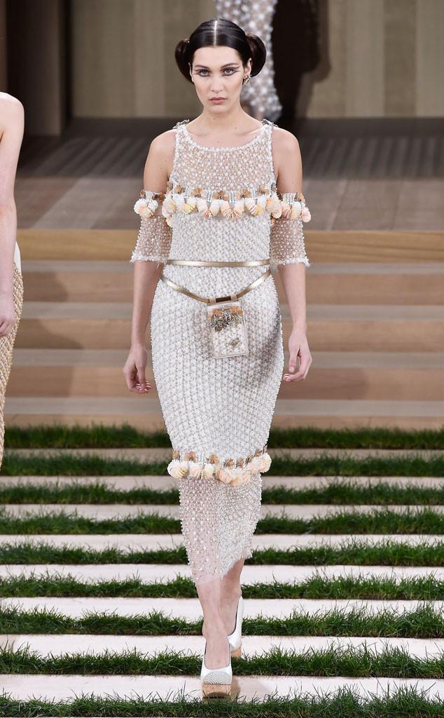 Chanel, Paris Fashion Week Haute Couture, Bella Hadid