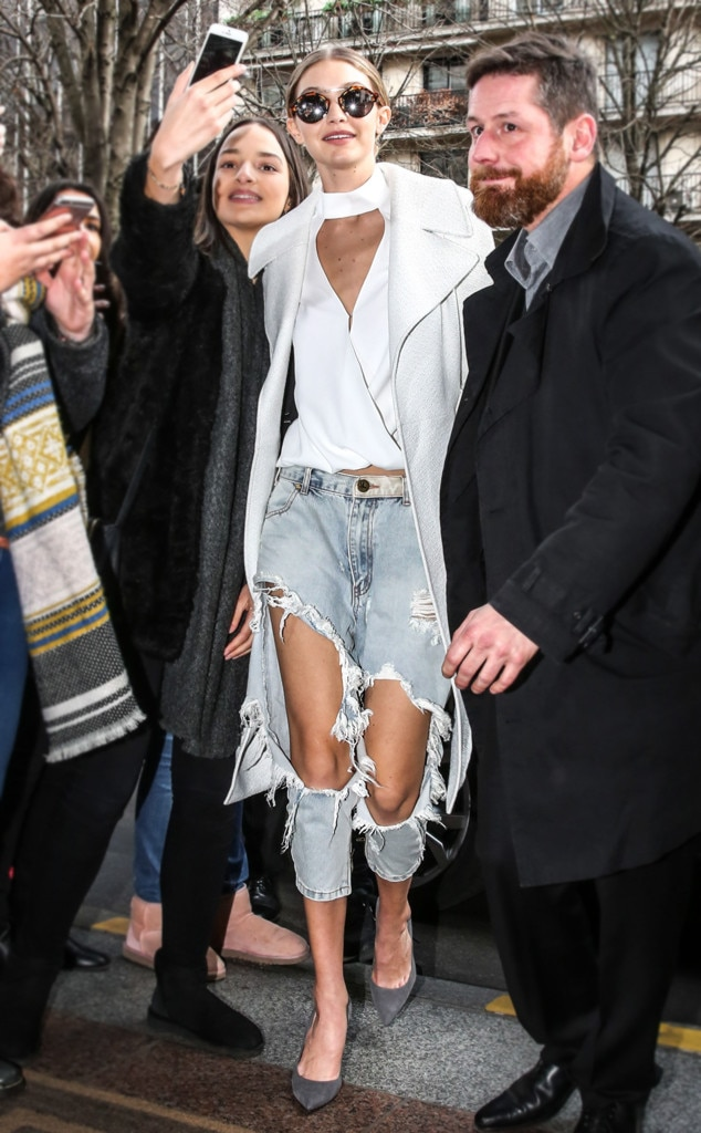 Gigi Hadid, ESC: White Shirts