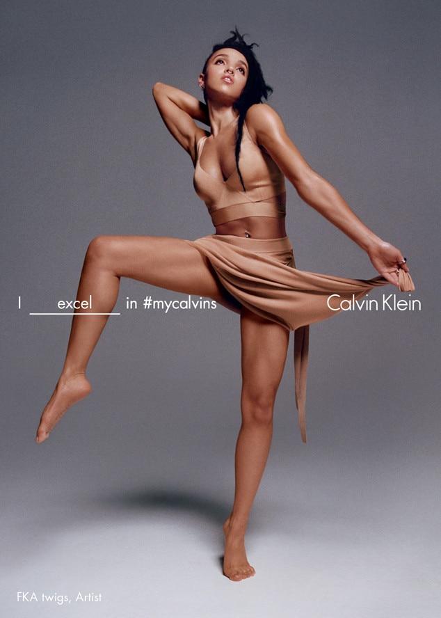 FKA Twigs, Calvin Klein Campaign