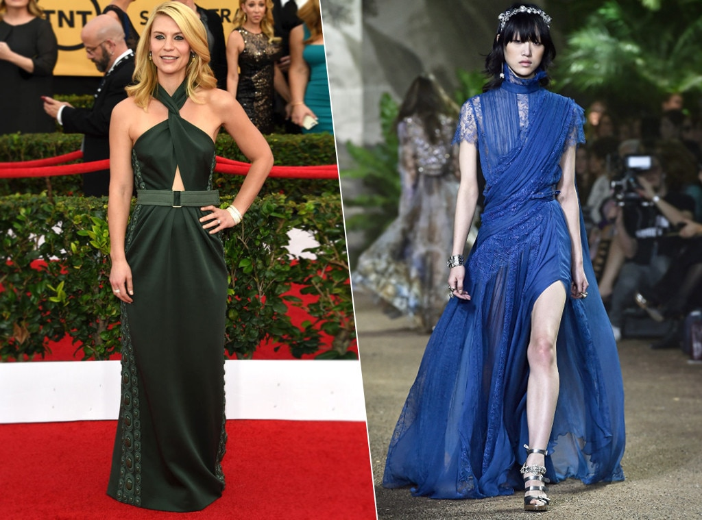Claire Danes, ESC: SAG Dress Predictions