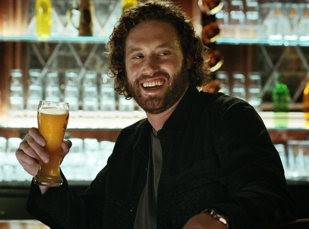 Christie Brinkley Commercial >> T.J. Miller Matches Wits With a Shock Top Beer Tap in the ''Greatest Super Bowl Commercial of ...