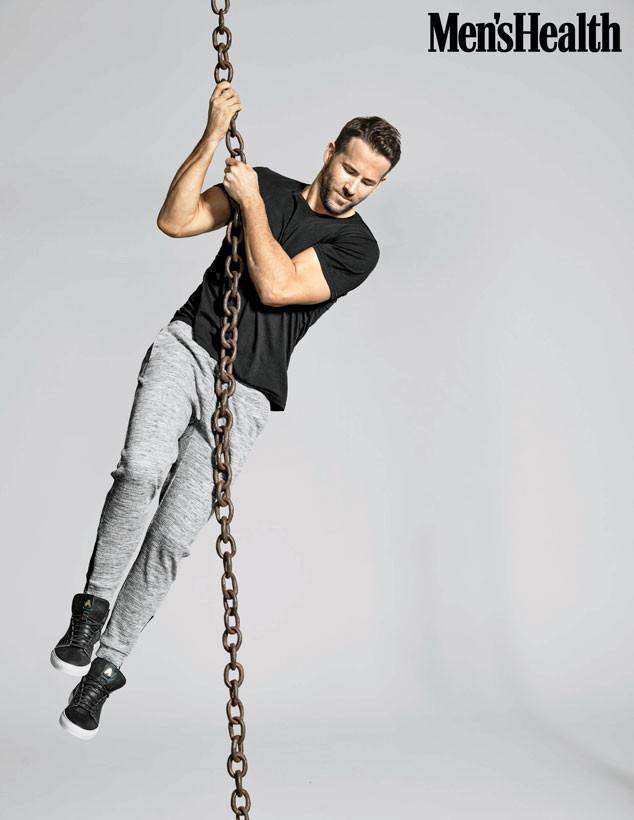 Ryan Reynolds, Men's Health