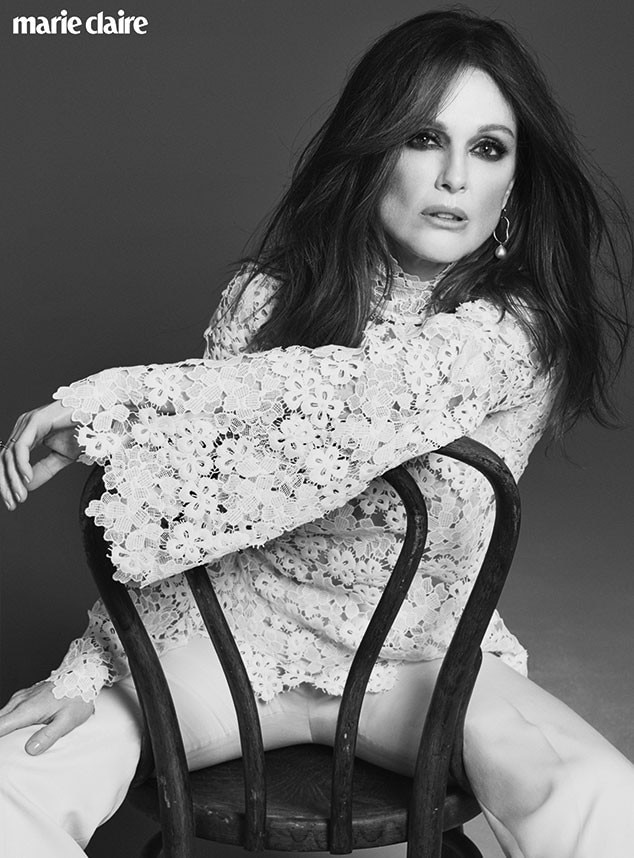 Julianne Moore, Marie Claire UK