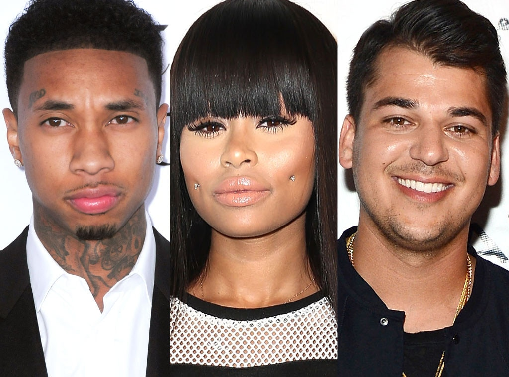 Tyga, Blac Chyna, Rob Kardashian