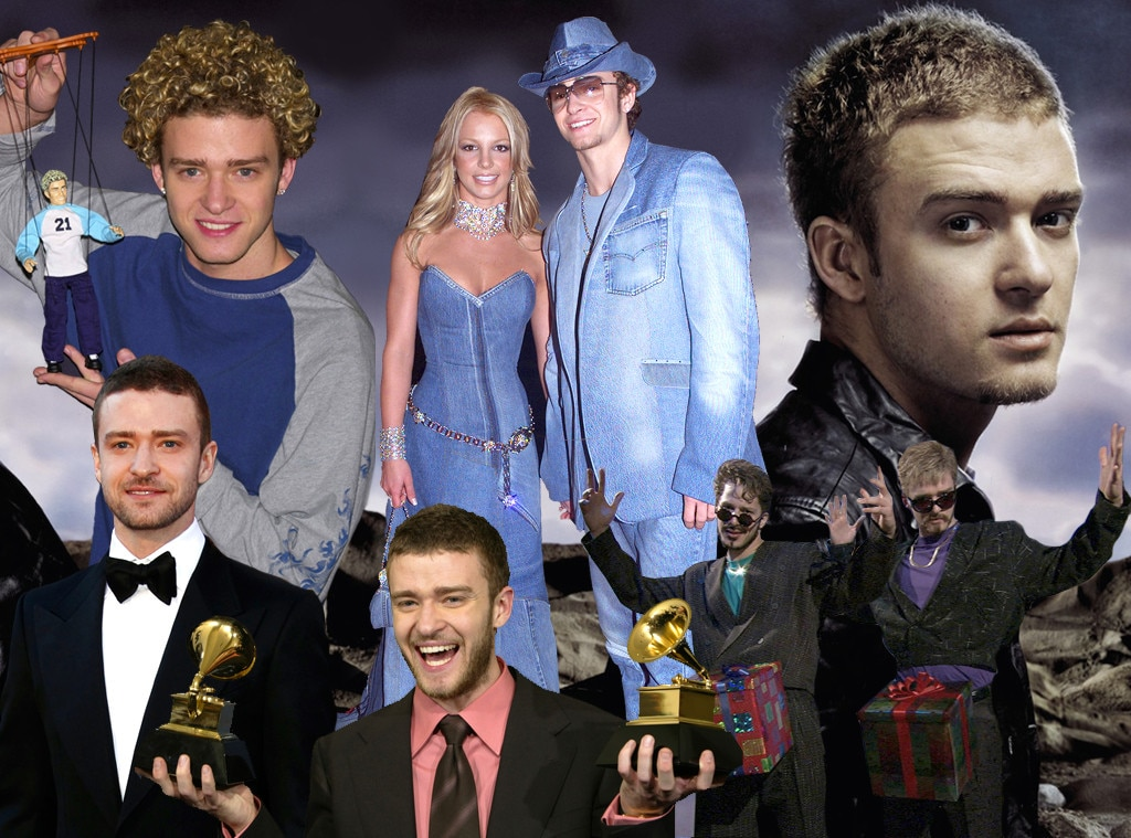 Justin Timberlake Birthday Graphic