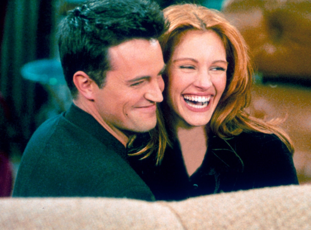 Matthew Perry, Julia Roberts, Friends, 90s couples