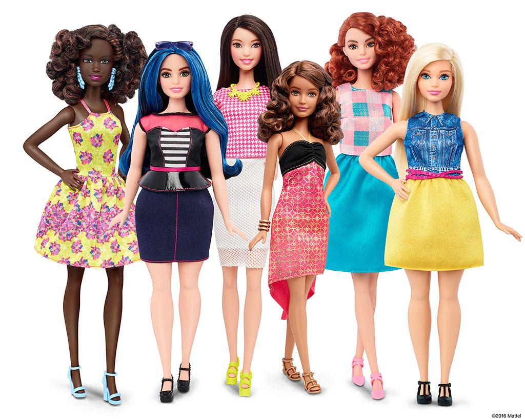 Barbie, Mattel, Curvy