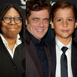 Whoopi Goldberg, Benicio Del Toro, Jacob Tremblay