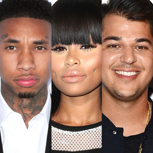 Tyga, Blac Cyna, Rob Kardashian
